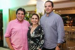 Dito Machado, Adriana Queiroz e Thiago Holanda