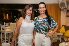 Eugênia Amaral e Fernanda Zebalos