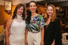 Eugênia Amaral, Fernanda Zebalos e Claudiana Juaçaba