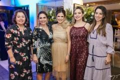 Germana Feitosa, Adriana Queiroz, Niedja Bezerra, Daniela e Ticiana Barreira