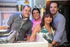 Gilvan Magno, Dito Machado, Carmen Cinira e Thiago Holanda