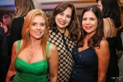 Letícia Studart, Martinha Assunção e Maria Lúcia Negrão