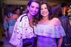 Márcia Travessoni e Lúcia Lobo