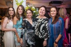 Marília Queiroz, Daniela Eloy, Adriana Queiroz, Paula Frota e Manoela Bacelar