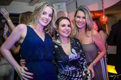 Natália Diogo, Adriana Queiroz e Jeritza Gurgel