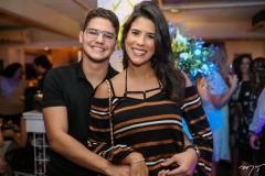 Otávio Queiroz e Marcela Pinto