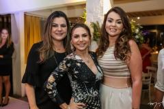 Rafael Baquit, Adriana Queiroz e Jamile Castro