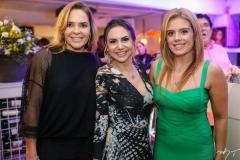Rafaela Pinto, Adriana Queiroz e Letícia Studart