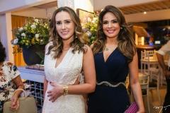 Roberta Nogueira e Eveline Fujita
