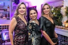 Suyane Dias Branco, Adriana Queiroz e Michelle Aragão