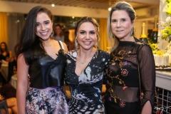 Vânia Viana, Adriana Queiroz e Camille Cidrão