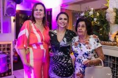 Viviana Quezado, Adriana Queiroz e Nila Diógenes
