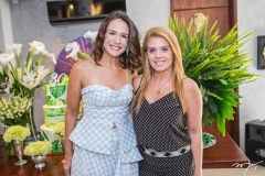 Ana Virginia Martins e Leticia Studart
