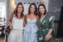Ana Vládia Barreira, Ana Virginia Martins e Fabrícia Bastos