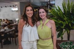 Ana Vládia Barreira e Vivian Albuquerque