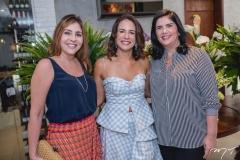 Cristiane Faria, Ana Virginia Martins e Natasha Martins