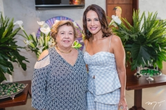 Gláucia e Ana Virginia Martins