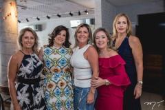 Kathiane Valença, Luciana Lobo, Leia Freitas, Mônica Peixoto e Márcia Peixoto