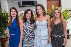Lorena Pouchain, Martinha Assunção, Ana Virginia Martins e Leticia Studart