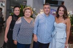 Luciana, Gláucia, Ricardo e Ana Virginia Martins