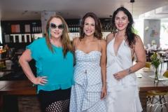 Luiziane Cavalcante, Ana Virginia Martins e Izabela Fiuza