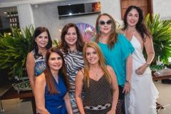 Maria Lúcia Negrão, Lorena Pouchain, Martinha Assunção, Leticia Studart, Luiziane Cavalcante e Izabela Fiuza