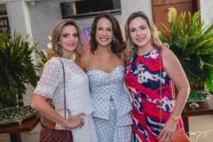 Michelle Aragão, Ana Virginia Martins e Suyane Dias Branco