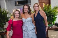 Mônica Peixoto, Ana Virginia Martins e Márcia Peixoto