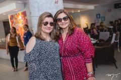 Nájla Corrêa e Simone Jereissati