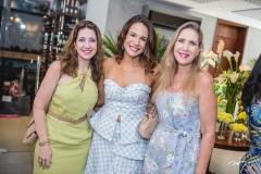 Vivian Albuquerque, Ana Virginia Martins e Marjorie Marshall