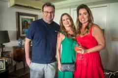 Aroldo Feitosa, Adriana Bezerra e Ana Vládia Sales