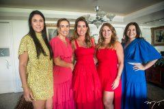 Fernanda Sousa, Ane Alcantara, Ana Vládia Sales, Tati Luna e Luciana Loubão