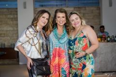 Adriana Bezerra, Lê Pinto e Fabiana Benevides