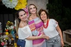 Adriana Queiroz, Michele Aragão e Didiê Câmara