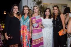 Ana Virgínia Martins, Lê Pinto, Michele Aragão, Martinha Assunção e Ana Vládia Barreira