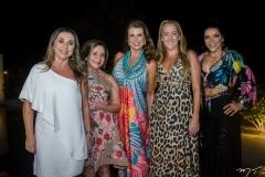 Aninha Nobrega, Virginia Holanda, Lê Pinto, Karine Arrais e Salete Maciel
