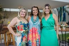 Fabiana Benevides, Lê Pinto e Cristina Ximenes
