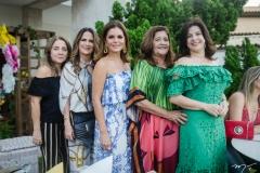 Luiza Reis, Adriana Bezerra, Liliana linhares, Clésia Araújo e Luciana Lobo