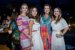 Michele Aragão, Sakie Brookes, Lê Pinto e Adriana Queiroz
