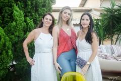 Márcia Barros, Juliana Parente e Daniele Castelo Branco