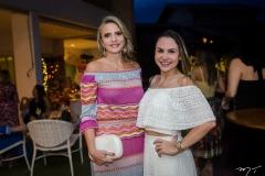 Michele Aragão e Adriana Queiroz