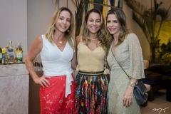 Ana Paula Daud, Lígia Vilar e Carla Nogueira