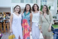 Roberta Ari, Lê Pinto, Nara Amaral e Carla Nogueira