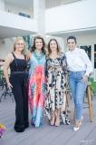 Waleska Rola, Lê Pinto, Sandra Machado e Márcia Travessoni