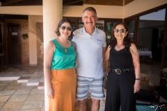 Aline Vieira, Artur Bruno e Maria Dias