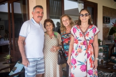 Artur Bruno, Josefa Tereza Nóbrega, Célia Nóbrega e Inês Helena Nóbrega