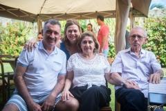 Artur Bruno, Natércia Bruno, Irelda Andrade e Raimundo Bruno
