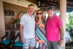 Artur Bruno, Zenilce Bruno e Miguel Sávio