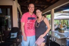 Demétrio Andrade e Luciana Barroso