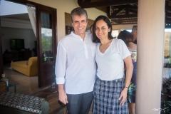 Fábio Gentile e Fernanda Barreira